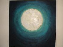 Mond, Nacht, Malerei