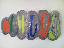 Abstrakt, Stein, Bernau, Malerei