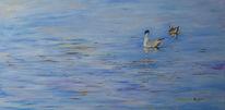 Wasser, Spiegelung, Malerei