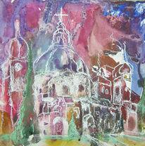 Ettal, Abstrakt, Kloster, Gebäude