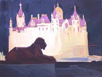 Schloss, Schwerin, Malerei