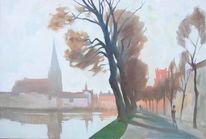 Pfaffenteich, Schwerin, Teich, Dom