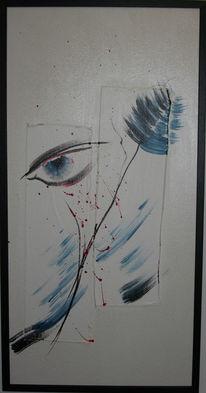 Malerei, Abstrakt, Augenblick