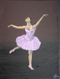 Malerei, Figural, Ballerina