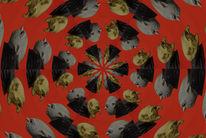 Kaleidoskop, Abneigung, Blick, Digitale kunst