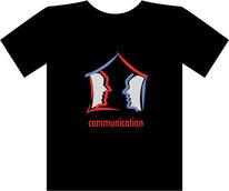 Kommunizieren, Profil, Kopf, Sprechen
