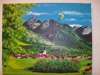 Oberstdorf, Allgäuer, Berge, Alpen
