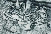 Infusion, Triptychon, Medizin, Schmerz