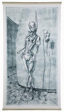 Stuhl bleistiftzeichnung  Stuhl - 342 Bilder und Ideen auf KunstNet | Malen, Acrylmalerei ...