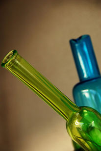 Grün, Flasche, Blau, Fotografie