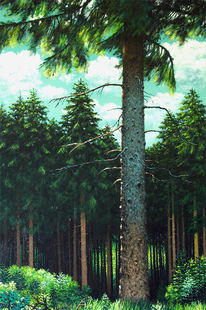 Baum, Wald, Malerei