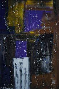 Malerei, Abstrakt, Hoffnung, Weg