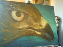 Falke, Malerei