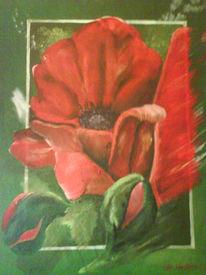 Mohn, Malerei