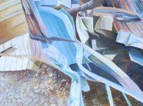 Blickwinkel, Räumlichkeit, Chaos, Malerei