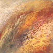 Wüste, Pigmente, Wärme, Malerei