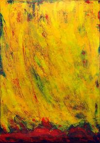 Gelb, Abstrakt, Rot, Grün