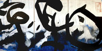 Triptychon, Abstrakt, Malerei