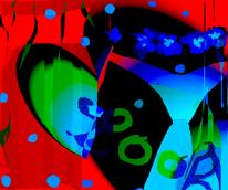 Sexualität, Farben, Femenin, Digital