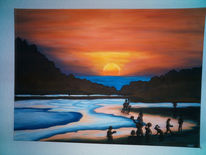 Malerei, Sonne