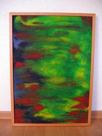 Struktur, Acrylmalerei, Farben, Malerei