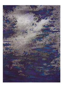 Abstrakt, Samt, Acrylmalerei, Malerei