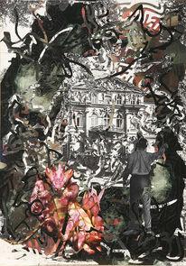 Collage, Surreal, Grafik