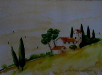 Dekoration, Toskana, Geschenk, Malerei