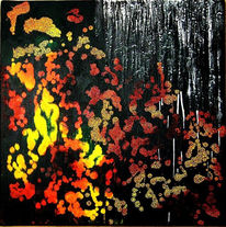 Malerei, Abstrakt, Oktober