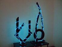 Lichtinstallation, Objektleuchte, Lichtobjekt, Lampe