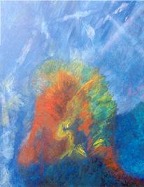 Surreal, Abstrakt, Malerei,