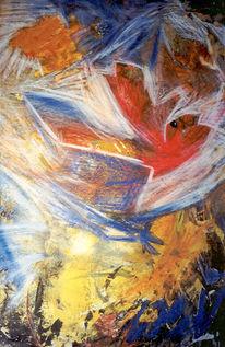 Abstrakt, Expressionismus, Malerei,