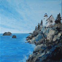 Malerei, Steilküste