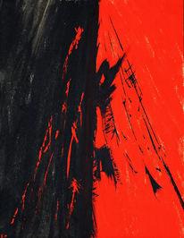 Blut, Abrased, Gesicht, Rot
