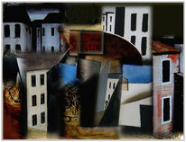 Digitale kunst, Surreal, Stadt, Himmel