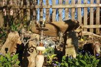 Experimentell, Garten, Stonehenge, Abend
