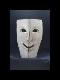 Maske, Holz, Kunsthandwerk, Il