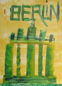 Abstrakt, Malerei, Berlin