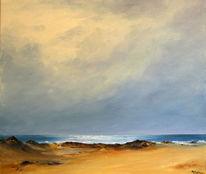 Meer, Strand, Himmel, Malerei
