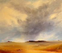 Himmel, Sand, Wolken, Wüste