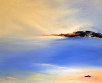 Licht, See, Malerei