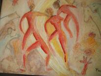 Tanz, Bewegung, Schwung, Malerei