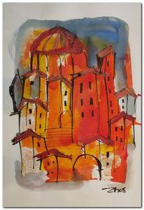 Italien, Leben, Zeichnungen