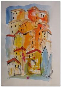 Italien, Toskana, Zeichnungen