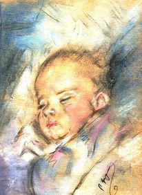 Zeichnungen, Portrait, Traum