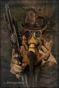 Gasmaske, Leder, Kleidung, Schlesier