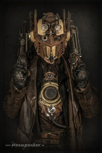 Steampunk, Maske, Kleidung, Convention