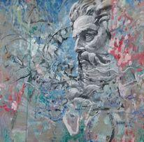 Wand, Malerei,