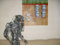 Kunstwerk aus mühl, Kunst nrw, Kunsthandwerk,