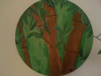 Malerei, Bambus